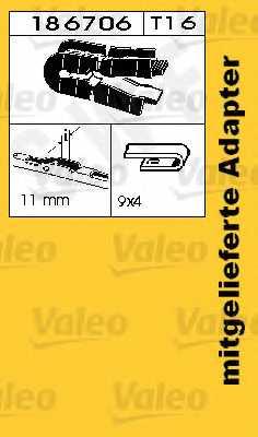 Щетка стеклоочистителя SWF SWF 609 / 116609 - изображение 1