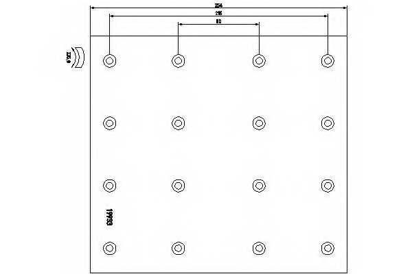 Комплект тормозных башмаков барабанного тормоза <b>TEXTAR 1993301</b> - изображение