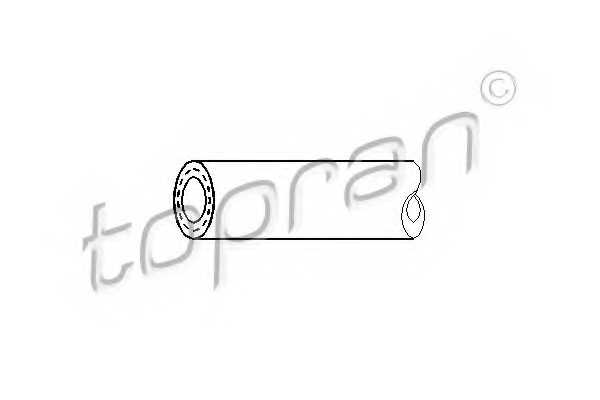Топливный шланг TOPRAN 107 141 - изображение