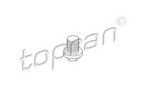 Резьбовая пробка, масляный поддон TOPRAN 301 817 - изображение