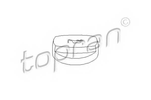 Крышка заливной горловины TOPRAN 400 251 - изображение