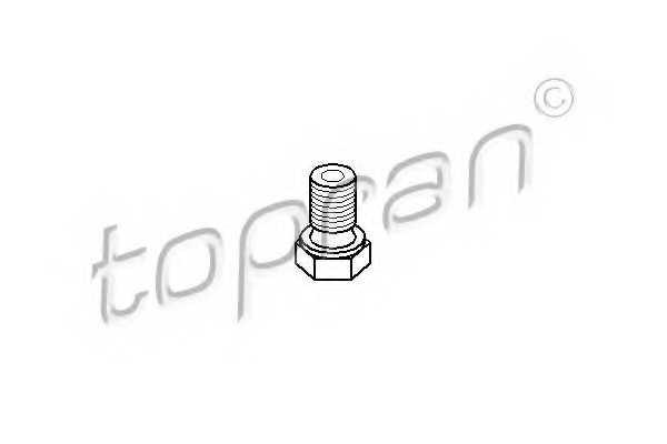 Резьбовая пробка, масляный поддон TOPRAN 500 207 - изображение
