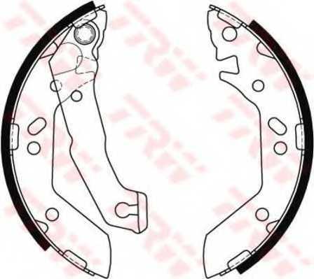 Комплект тормозных колодок для HYUNDAI ACCENT(LC,MC,X-3) <b>TRW GS8684</b> - изображение