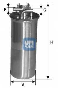 Фильтр топливный UFI 24.001.00 - изображение