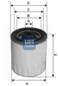 Фильтр топливный UFI 24.321.00 - изображение