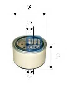 Фильтр топливный UFI 24.338.00 - изображение