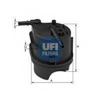 Фильтр топливный UFI 24.343.00 - изображение