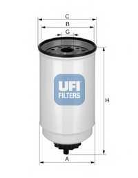 Фильтр топливный UFI 24.371.00 - изображение