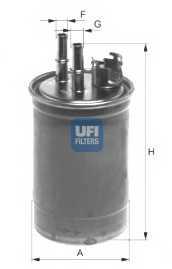 Фильтр топливный UFI 24.409.00 - изображение
