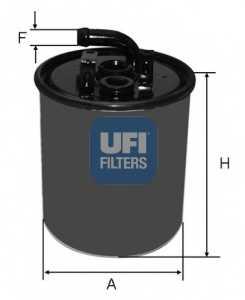 Фильтр топливный UFI 24.416.00 - изображение