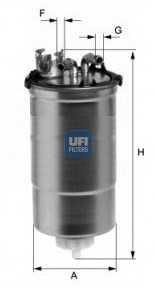 Фильтр топливный UFI 24.428.00 - изображение