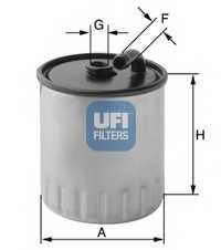 Фильтр топливный UFI 24.429.00 - изображение