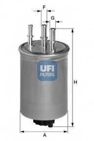 Фильтр топливный UFI 24.445.00 - изображение