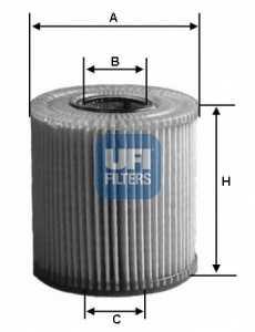 Фильтр масляный UFI 25.004.00 - изображение