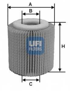 Фильтр масляный UFI 25.056.00 - изображение
