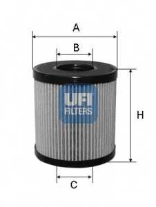 Фильтр масляный UFI 25.060.00 - изображение