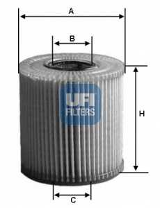 Фильтр масляный UFI 25.077.00 - изображение