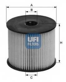 Фильтр топливный UFI 26.003.00 - изображение