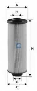 Фильтр топливный UFI 26.004.00 - изображение