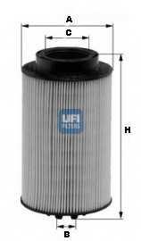 Фильтр топливный UFI 26.011.00 - изображение