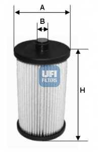 Фильтр топливный UFI 26.012.00 - изображение