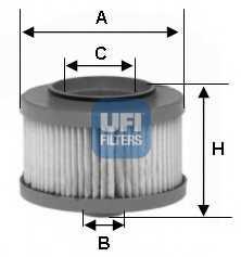 Фильтр топливный UFI 26.013.00 - изображение