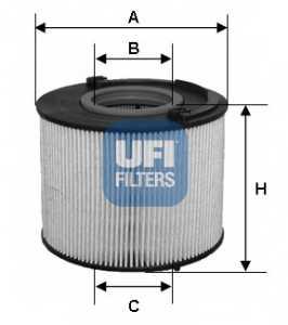 Фильтр топливный UFI 26.015.00 - изображение
