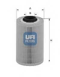 Фильтр топливный UFI 26.018.00 - изображение