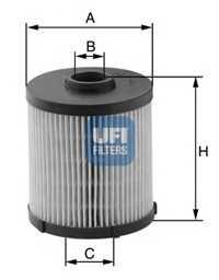 Фильтр топливный UFI 26.020.00 - изображение