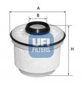 Фильтр топливный UFI 26.045.00 - изображение