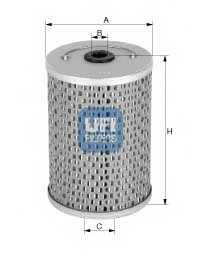 Фильтр топливный UFI 26.604.00 - изображение