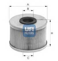 Фильтр топливный UFI 26.686.00 - изображение