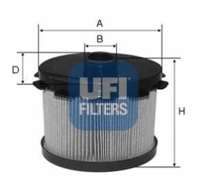 Фильтр топливный UFI 26.688.00 - изображение