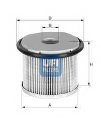 Фильтр топливный UFI 26.690.00 - изображение