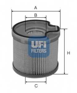 Фильтр топливный UFI 26.691.00 - изображение