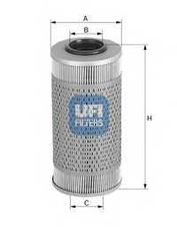 Фильтр топливный UFI 26.695.00 - изображение