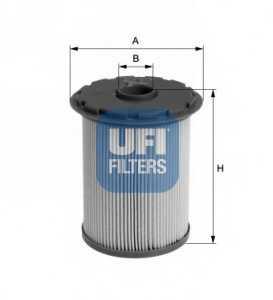 Фильтр топливный UFI 26.696.00 - изображение