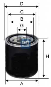 Патрон осушителя воздуха, пневматическая система UFI 27.259.00 - изображение