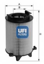 Фильтр воздушный UFI 27.401.00 - изображение