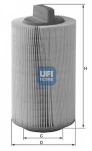 Фильтр воздушный UFI 27.486.00 - изображение