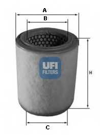 Фильтр воздушный UFI 27.592.00 - изображение