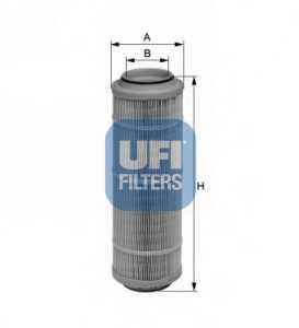 Фильтр воздушный UFI 27.593.00 - изображение