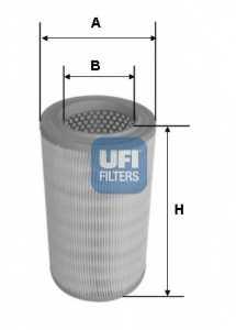 Фильтр воздушный UFI 27.630.00 - изображение