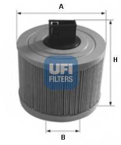 Фильтр воздушный UFI 27.636.00 - изображение