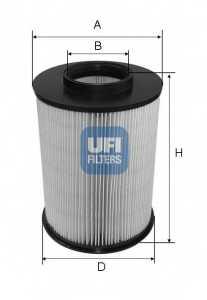 Фильтр воздушный UFI 27.675.00 - изображение