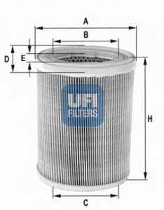 Фильтр воздушный UFI 30.078.01 - изображение