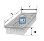 Фильтр воздушный UFI 30.090.00 - изображение