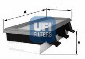 Фильтр воздушный UFI 30.108.00 - изображение