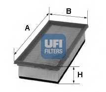 Фильтр воздушный UFI 30.127.00 - изображение