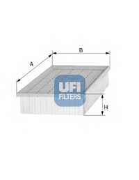 Фильтр воздушный UFI 30.136.00 - изображение